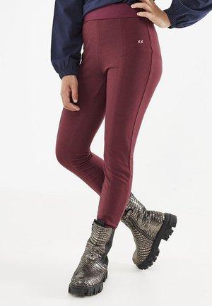 Legging - bordeaux red
