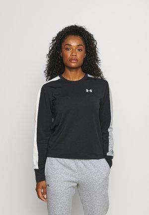 RIVAL TERRY CREW - Sweatshirt - black