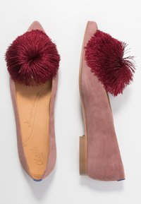 Chatelles - CANDIDE POINTY - Slip-ons - vintage pink/bordeaux - 3