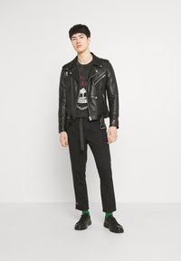 Jaded London - WASHED REGIONAL STATE - T-shirt con stampa - black - 1