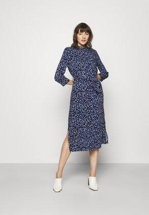 Shirt dress - blue/lilac