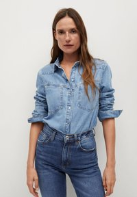 Mango - NEWMOM - Slim fit jeans - tmavě modrá - 3