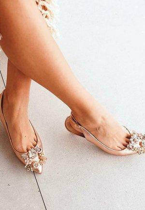 ALGARVE - Sandals - gold
