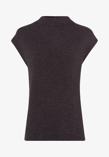 Basic T-shirt - anthracite-m