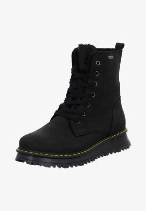 RUDI - Lace-up ankle boots - schwarz