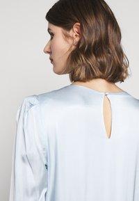 Bruuns Bazaar - ANOUR ART DRESS - Day dress - heather blue - 5