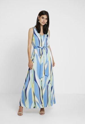 HAMMERED SATI - Maxi šaty - blue