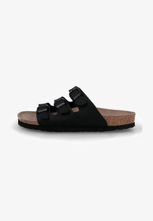 Ciabattine - schwarz