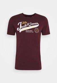 JJELOGO TEE - Print T-shirt - port royale