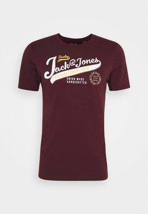 JJELOGO TEE - T-shirt imprimé - port royale