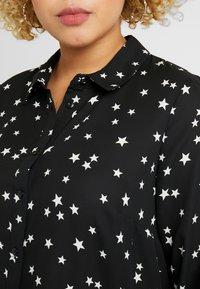Evans - STAR HI-LOW HEM  - Skjorte - mono - 5