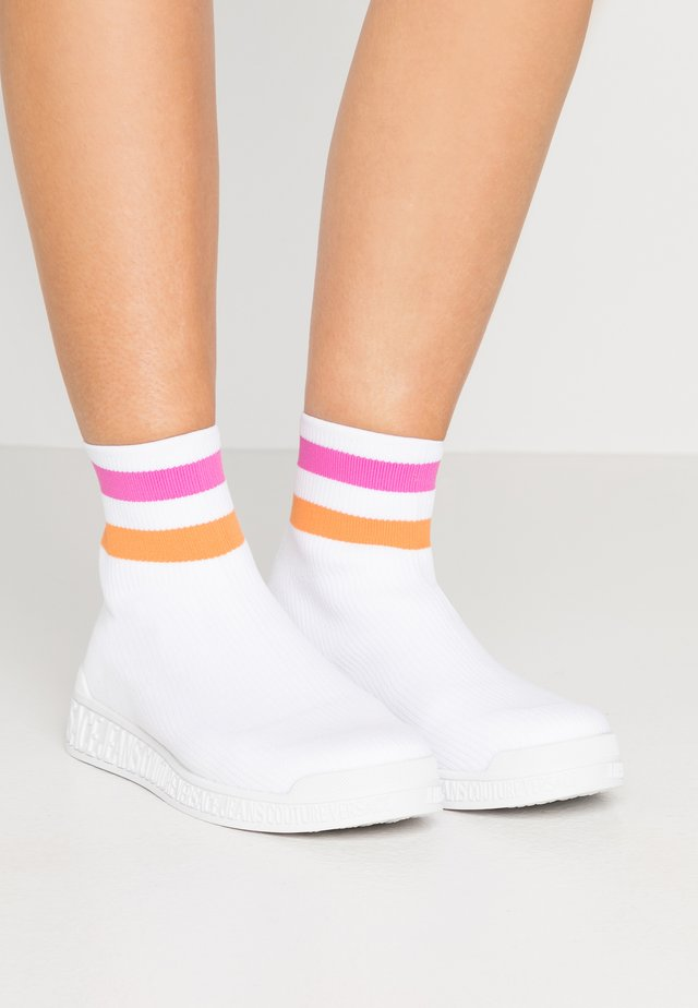LINEA FONDO PENNY - High-top trainers - bianco ottico