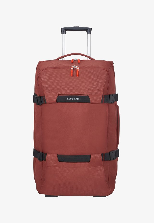 SONORA  - Wheeled suitcase - barn red