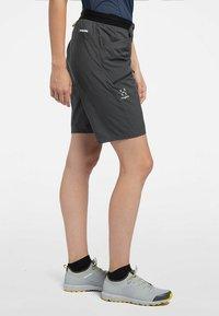 Haglöfs - L.I.M FUSE SHORTS - Outdoor shorts - magnetite - 0