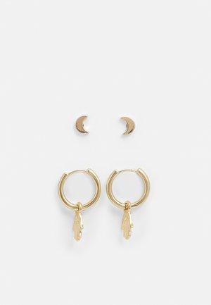 EARRINGS NYLA 2 PACK - Korvakorut - gold-coloured
