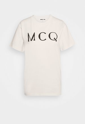 BAND TEE - T-shirt con stampa - oyster