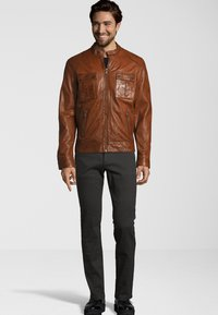 Capitano - NEBRASKA  - Leather jacket - mocca brown - 1