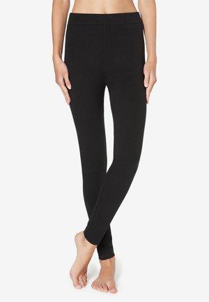 Leggings - Stockings - black