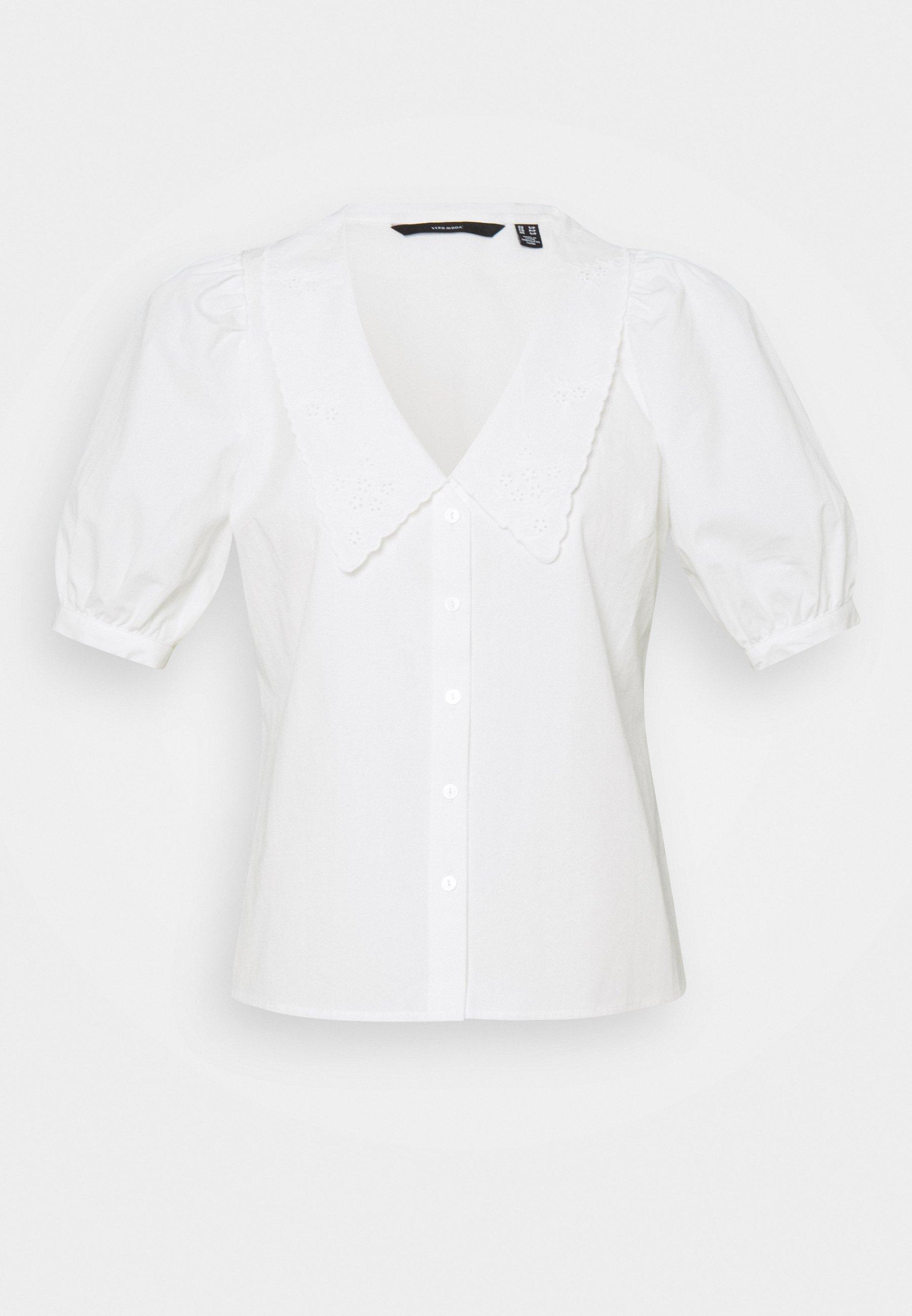 Women VMALLY 2/4 COLLAR - Button-down blouse