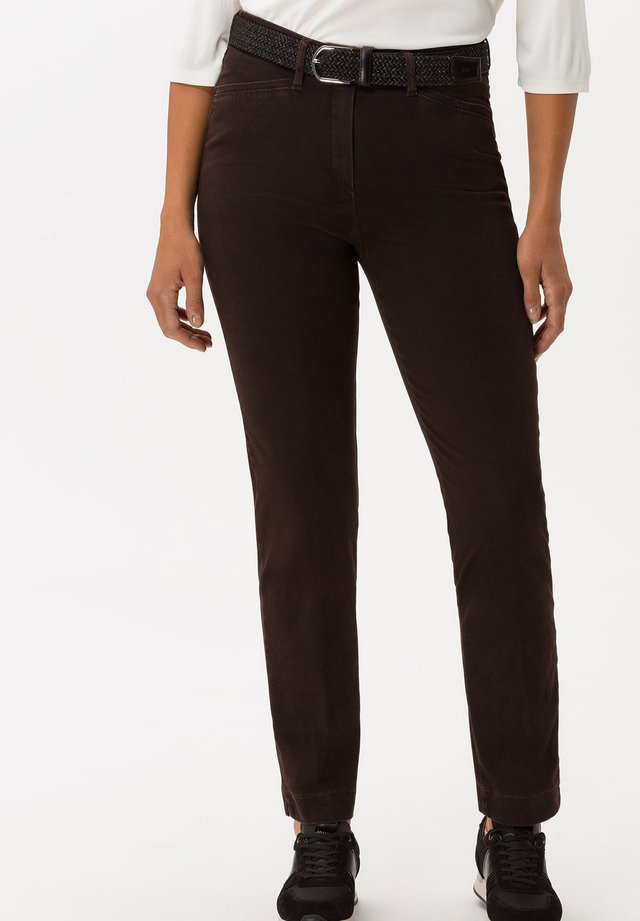 STYLE LORELLA - Broek - dark brown