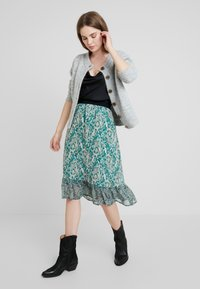 Selected Femme - SLFSIA - Cardigan - light grey melange - 1