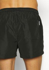 Calvin Klein Swimwear - DRAWSTRING - Surfshorts - black - 1