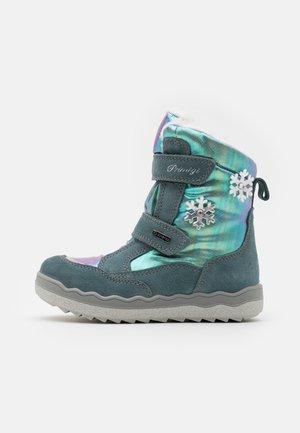 Winter boots - acquamarin