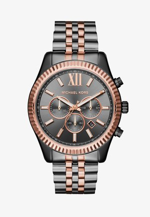 LEXINGTON - Zegarek chronograficzny - gunmetal/roségold-coloured