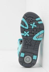 TrollKids - GIRLS PREIKESTOLEN - Walking sandals - mint/grey - 5