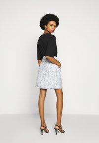 KARL LAGERFELD - CLASSIC SKIRT - A-line skirt - light blue - 2