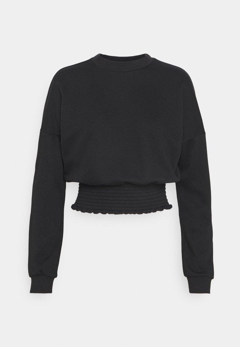 Noisy May - NMMILY SMOCK - Sweatshirt - black