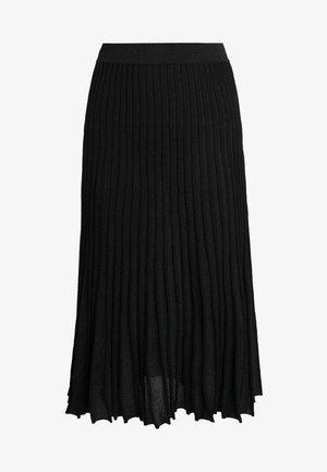 OAKLAND - Áčková sukně - black