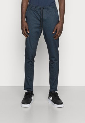 JJIWILL JJPHIL NOR HOUNDSTOOTH - Trousers - navy blazer