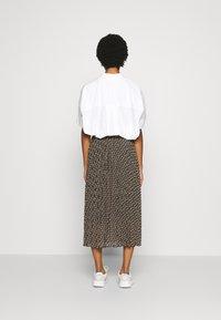 Dorothy Perkins - MIDI SKIRT - A-line skirt - black - 2