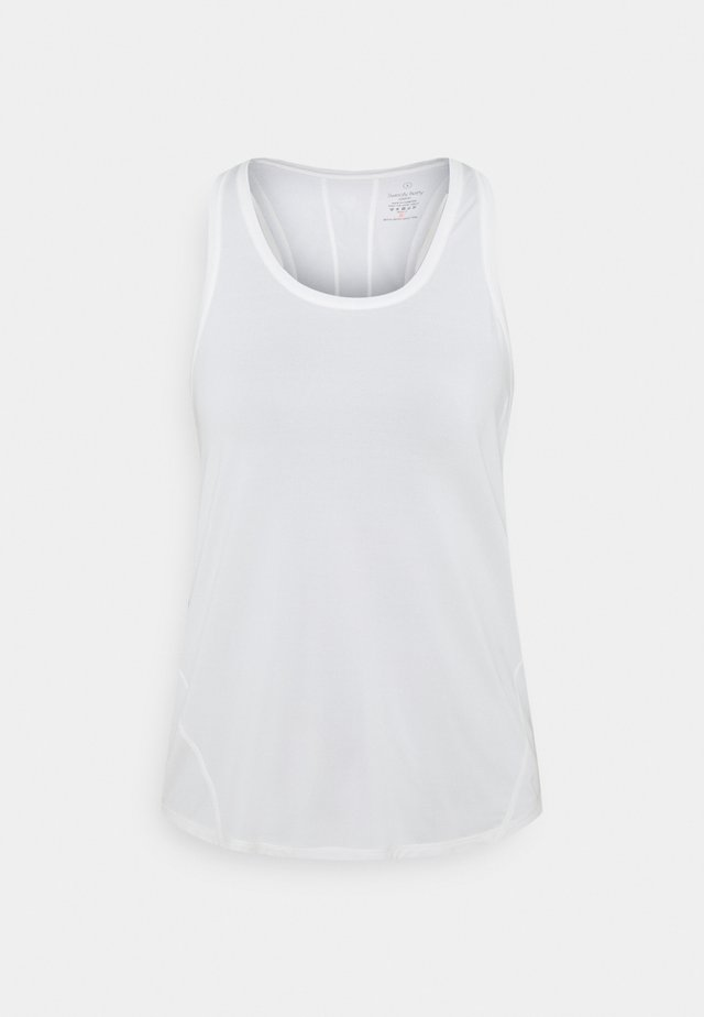 ENERGISE WORKOUT VEST - T-shirt sportiva - white