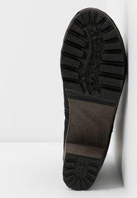 Softclox - OLESSIA - Platform ankle boots - schwarz - 6
