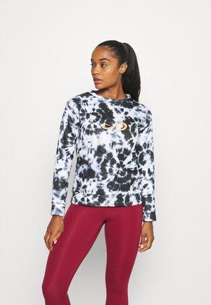 SUADADERA INNER PRINT - Sweater - tie dye black