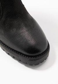 Steven New York - ELVIRA - Kotníková obuv na vysokém podpatku - black - 2