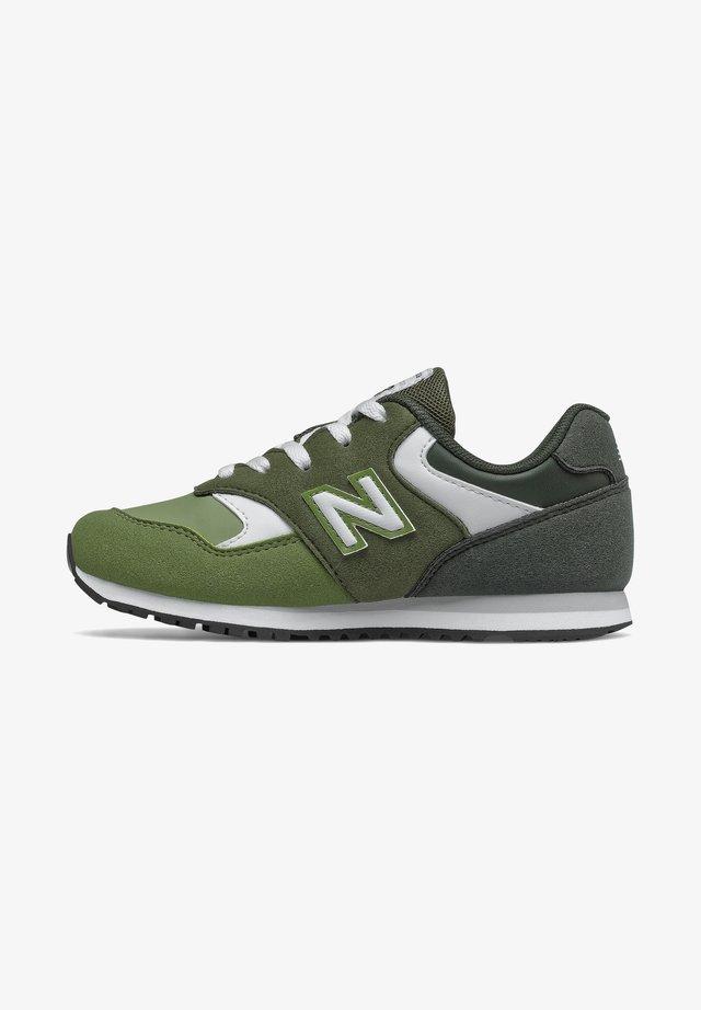 393 - Trainers - dark olive/oak leaf green