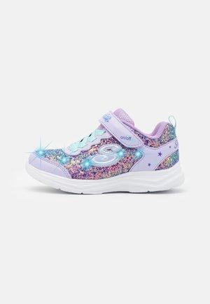 GLIMMER KICKS - Trainers - lavender rock glitter/aqua/pink