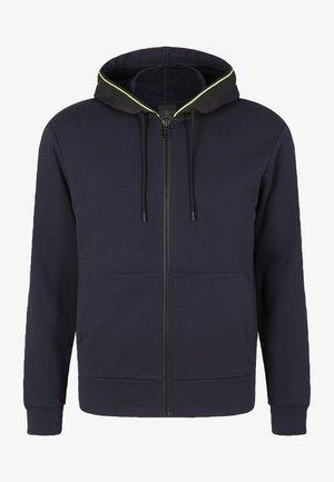 CORK - Zip-up sweatshirt - dunkelblau