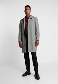 Topman - DOGTOOTH  - Cappotto classico - black/white - 1