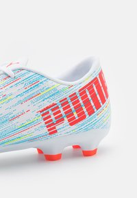Puma - ULTRA 4.2 FG/AG - Moulded stud football boots - white/red blast/energy blue - 5