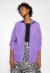 Monki - CONNY LI  - Button-down blouse - lilac purple - 0
