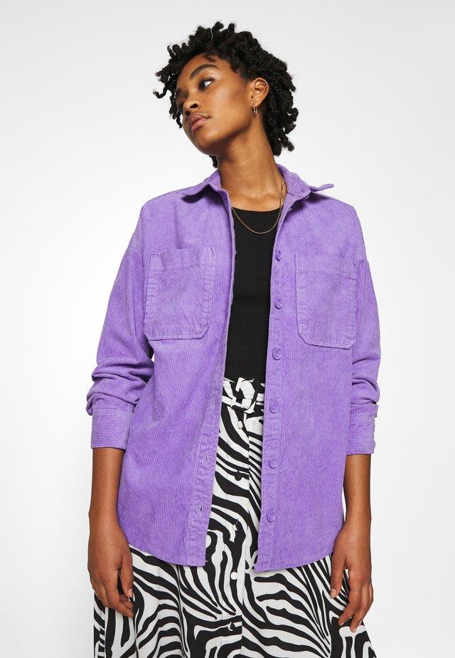 CONNY LI  - Button-down blouse - lilac purple