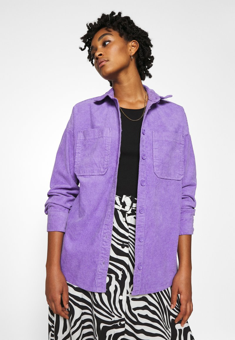 Monki - CONNY LI  - Button-down blouse - lilac purple