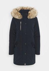 Dorothy Perkins - TRIM COAT - Zimní kabát - navy - 4