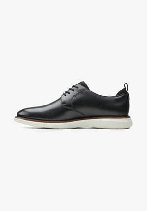 BRANTIN  - Casual lace-ups - black leather