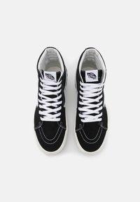 Vans - SK8 STACKED - High-top trainers - black/blanc de blanc - 4