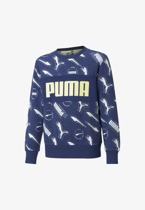 ALPHA - Sweatshirt - elektro blue